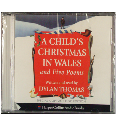 dylan thomas reads a childs christmas in wales 5 poems swansea shop