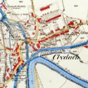 Ordnance Survey Map of Clydach, 1879